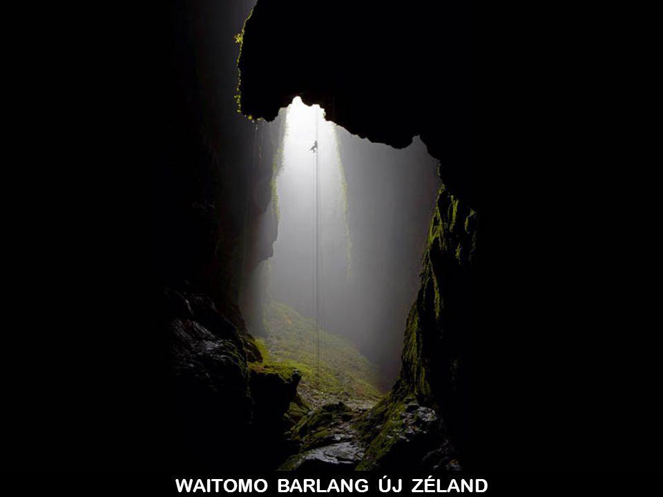 WAITOMO BARLANG ÚJ ZÉLAND