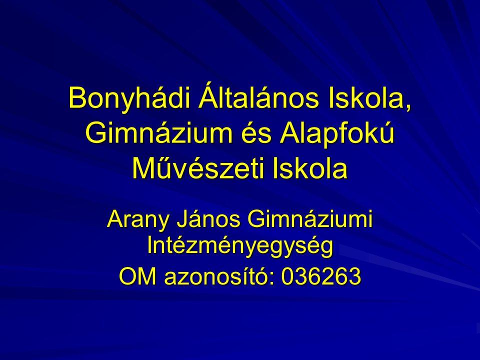 Bonyhádi Általános Iskola, Gimnázium és Alapfokú Művészeti Iskola