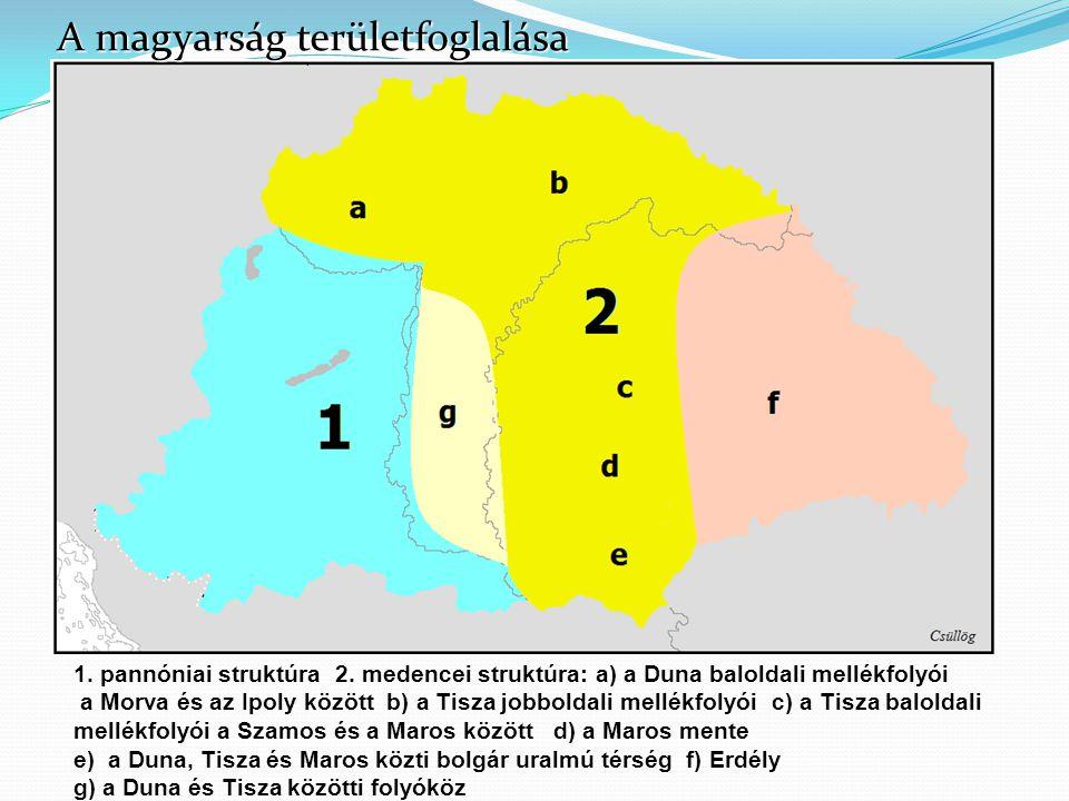 A magyarság területfoglalása