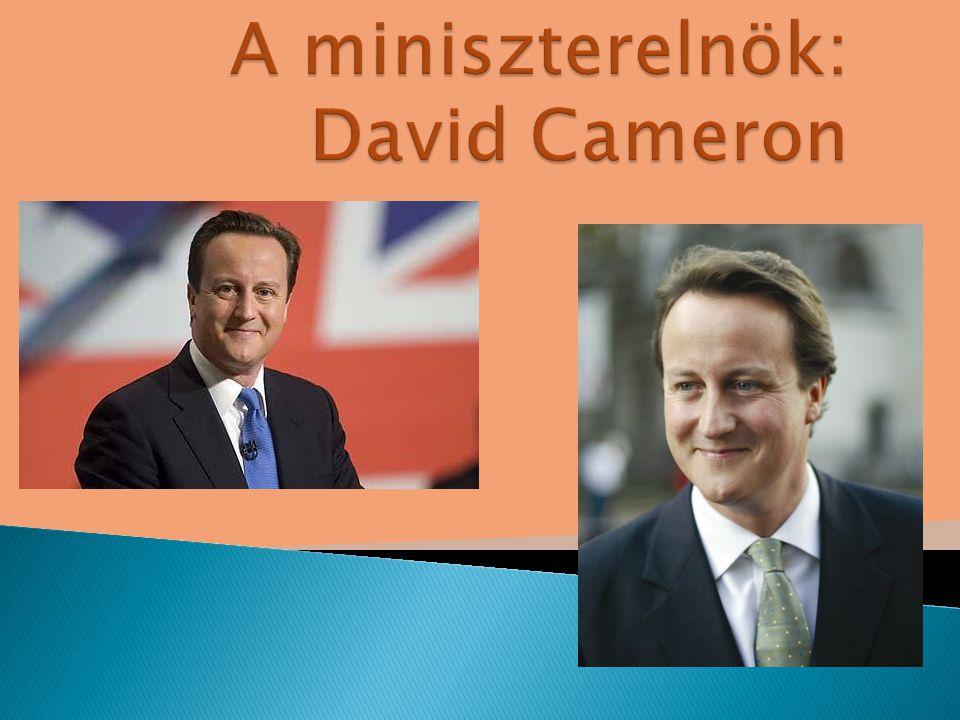 A miniszterelnök: David Cameron