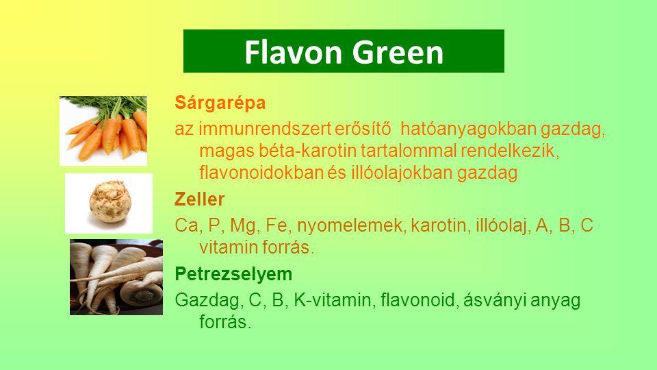 Flavon Green Sárgarépa