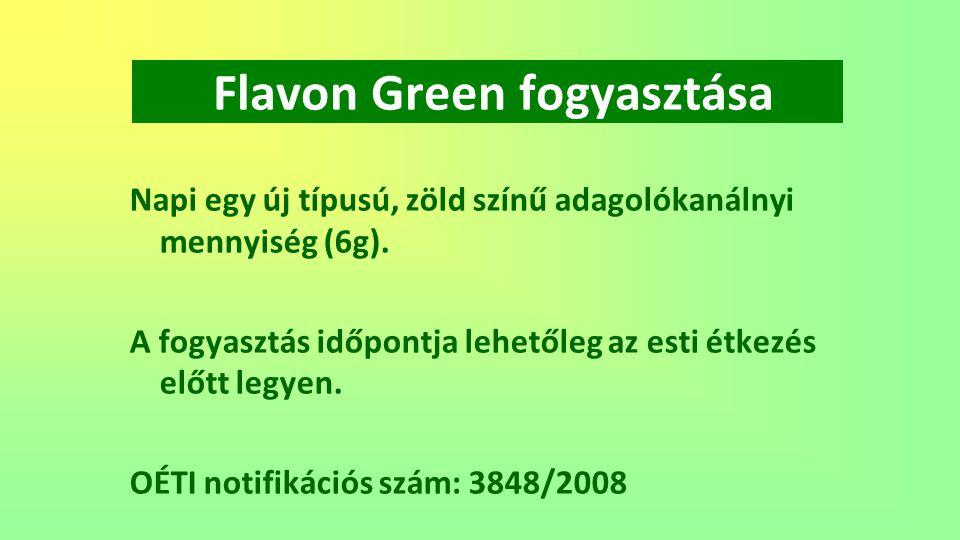 Flavon Green fogyasztása
