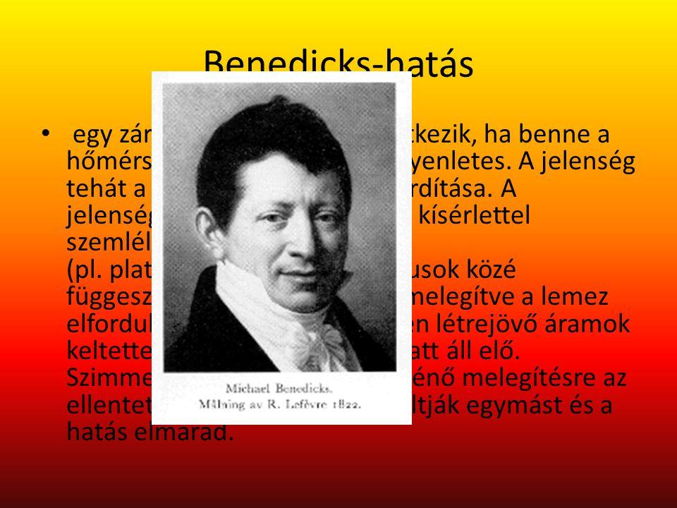 Benedicks-hatás