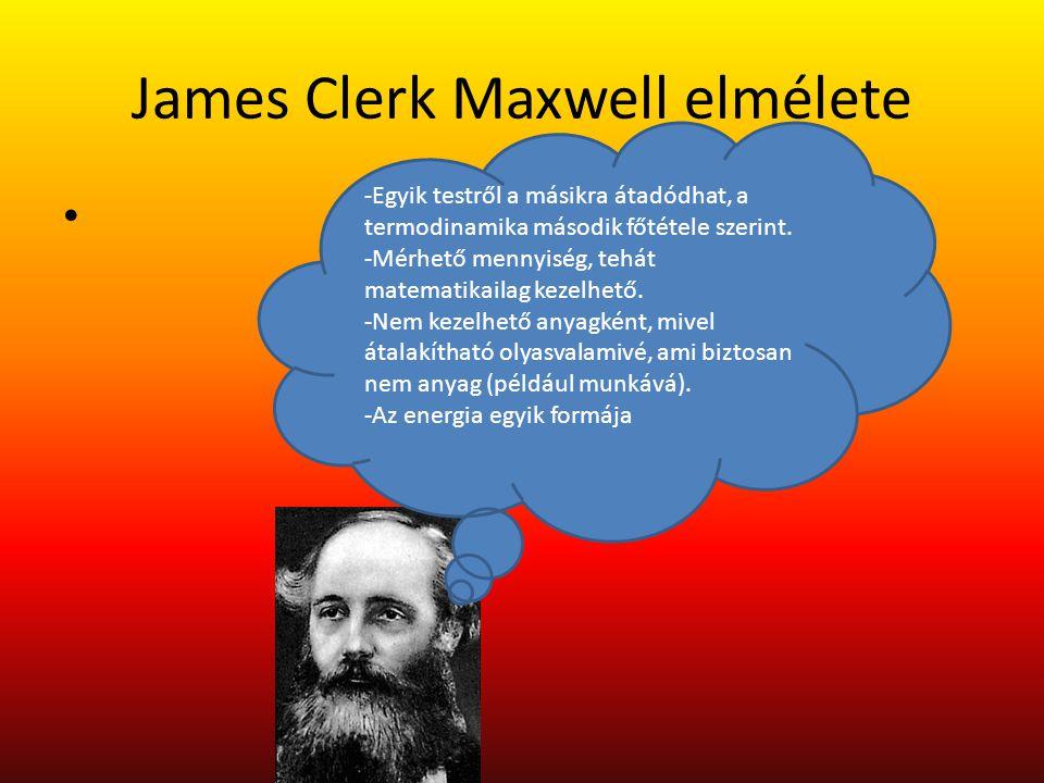 James Clerk Maxwell elmélete