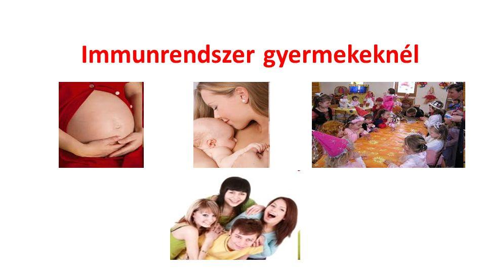 Immunrendszer gyermekeknél