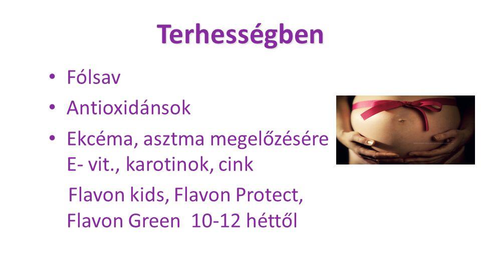 Terhességben Fólsav Antioxidánsok