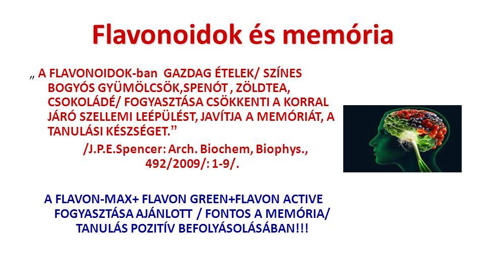 Flavonoidok és memória