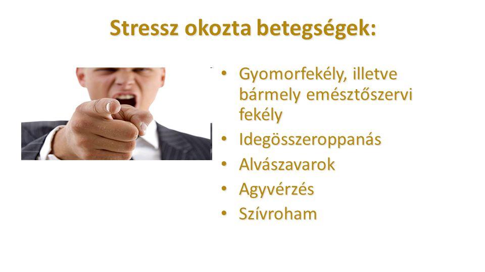 Stressz okozta betegségek: