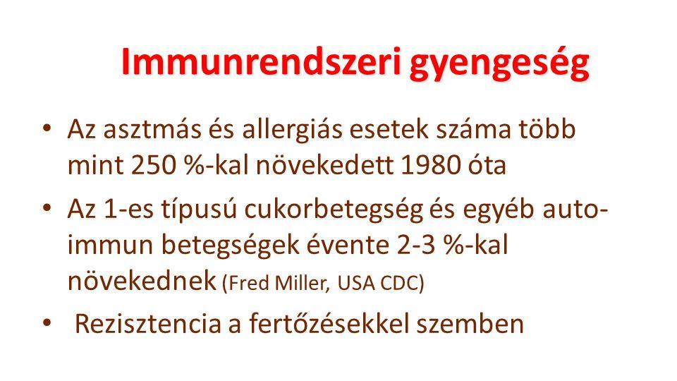Immunrendszeri gyengeség