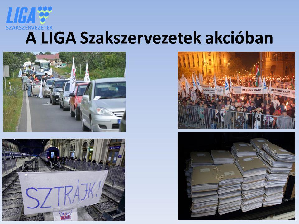 A LIGA Szakszervezetek akcióban