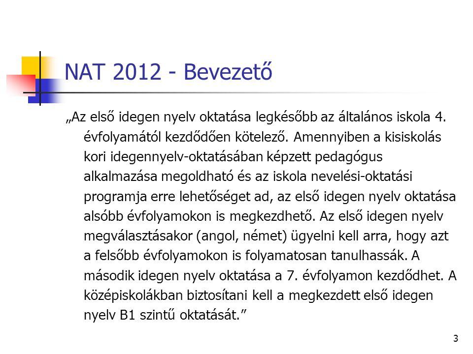 NAT 2012 - Bevezető