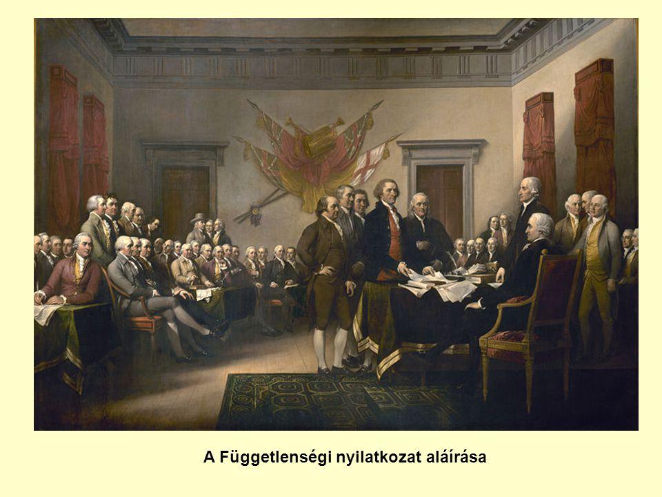 A Függetlenségi nyilatkozat aláírása