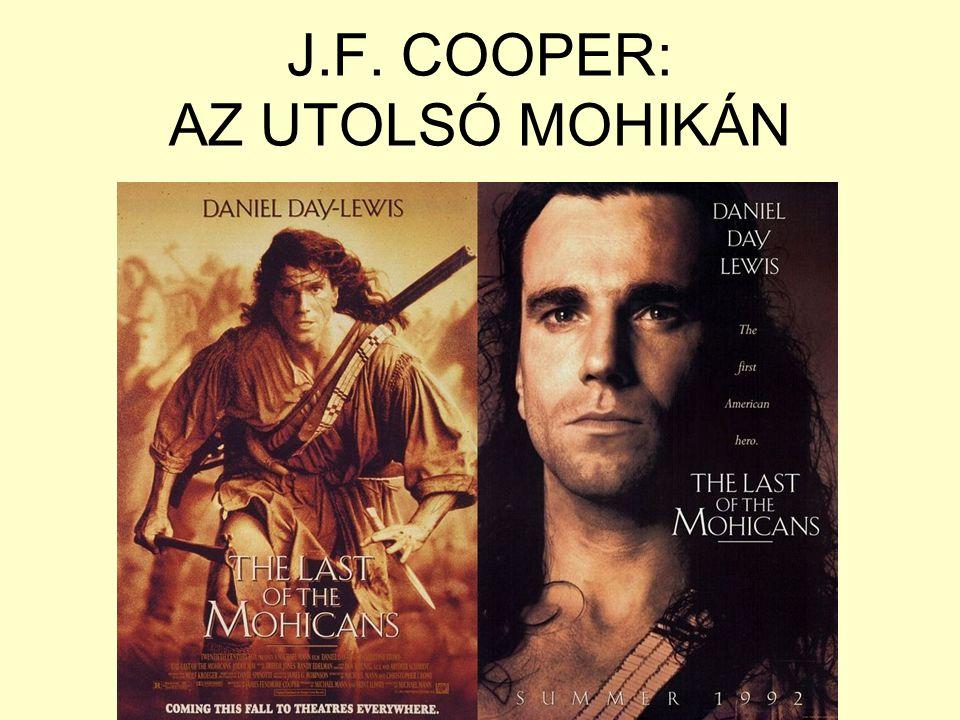 J.F. COOPER: AZ UTOLSÓ MOHIKÁN