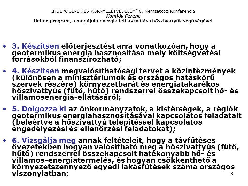 """""""HŐERŐGÉPEK ÉS KÖRNYEZETVÉDELEM 8"""
