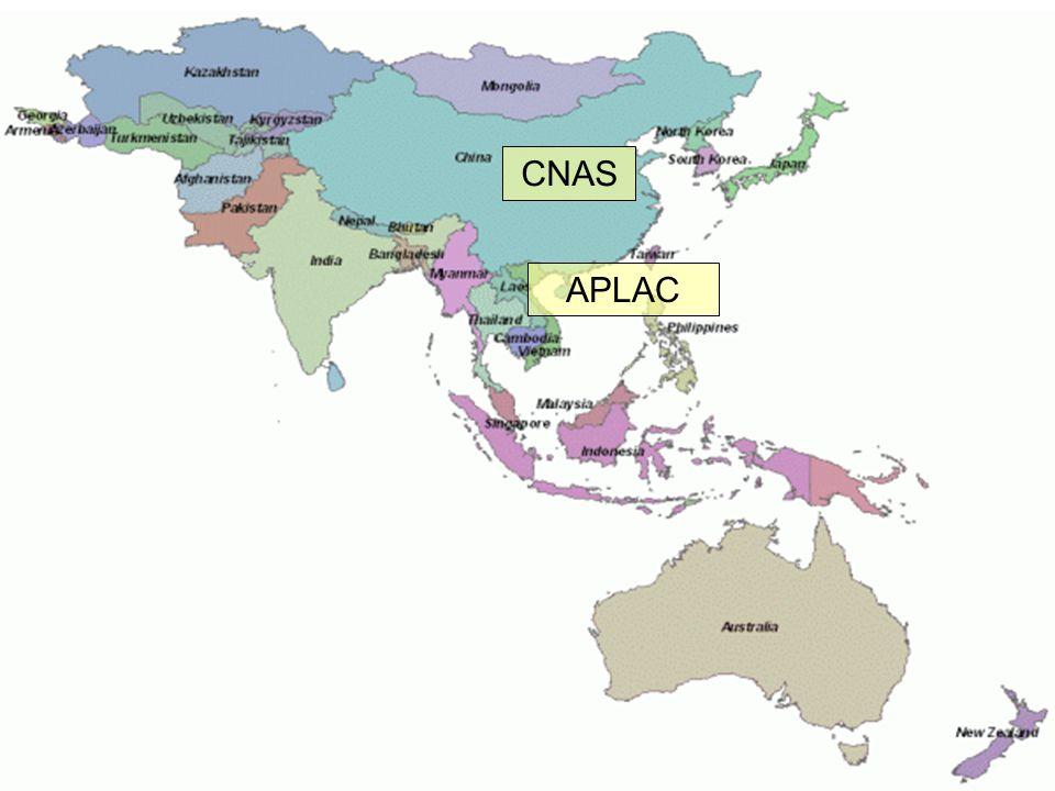 CNAS Ázsia APLAC