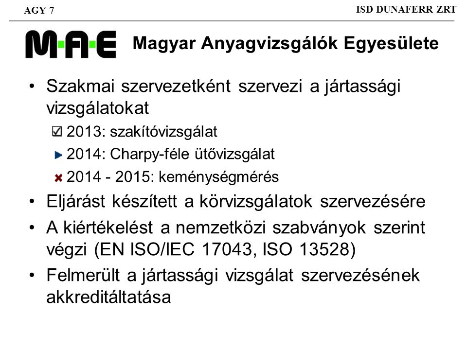Magyar Anyagvizsgálók Egyesülete