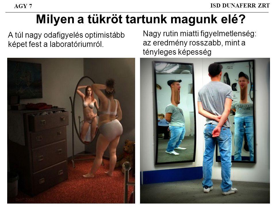 Milyen a tükröt tartunk magunk elé