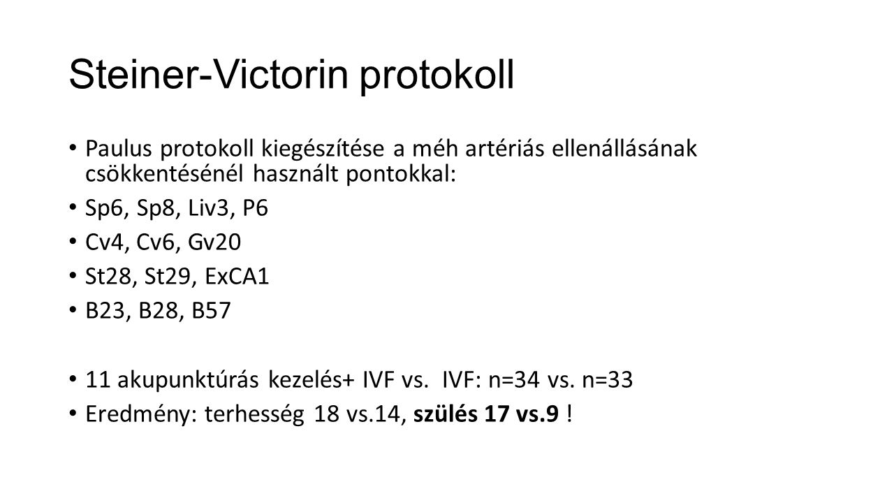 Steiner-Victorin protokoll