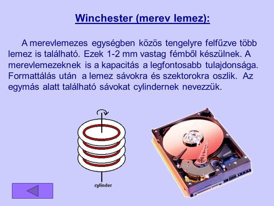 Winchester (merev lemez):