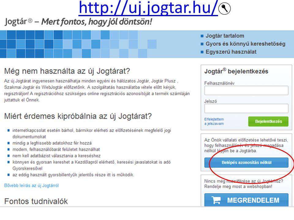 http://uj.jogtar.hu/