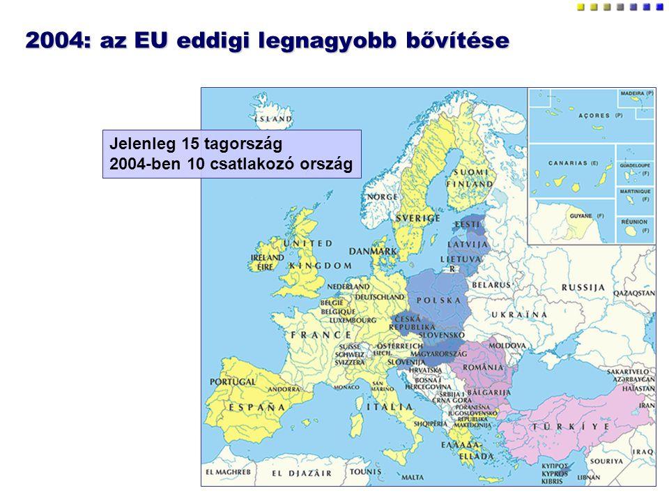 2004: az EU eddigi legnagyobb bővítése
