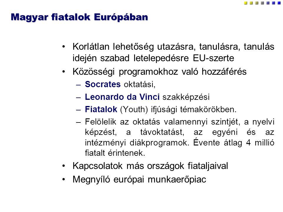 Magyar fiatalok Európában