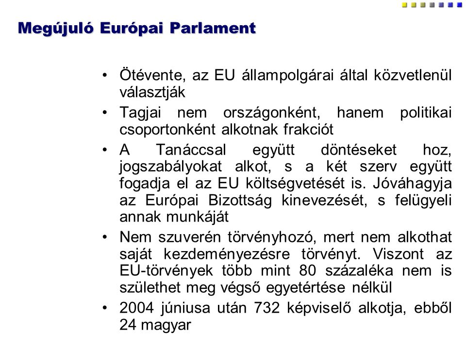 Megújuló Európai Parlament