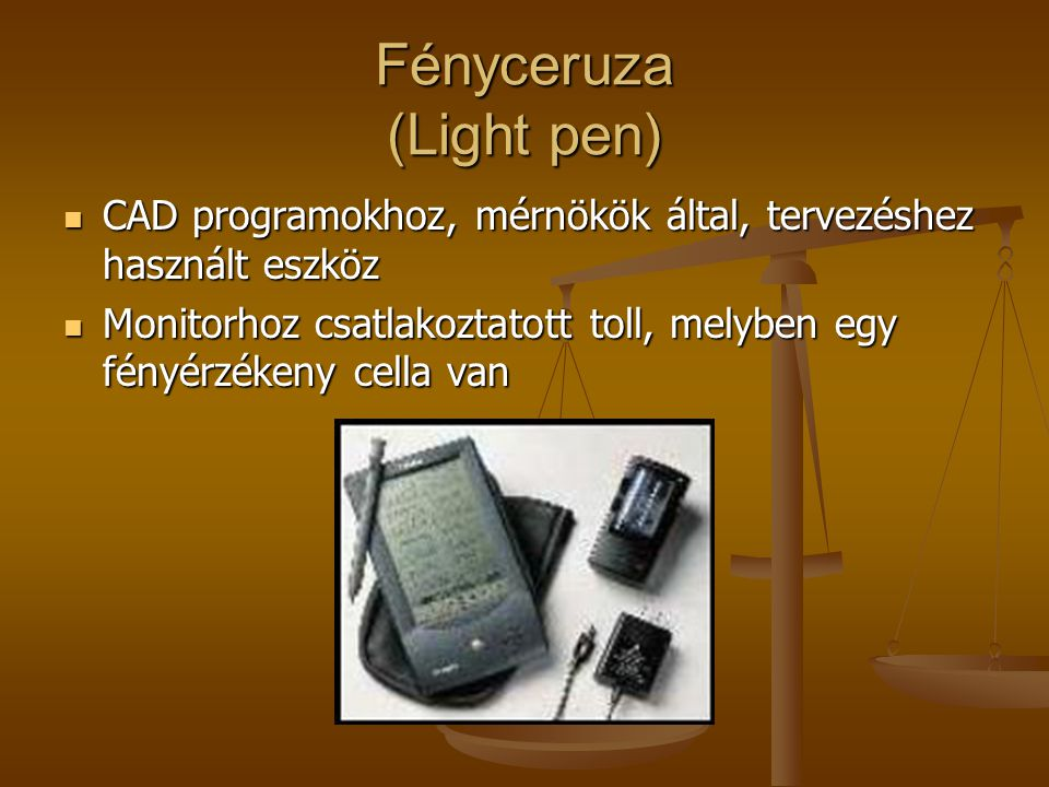 Fényceruza (Light pen)