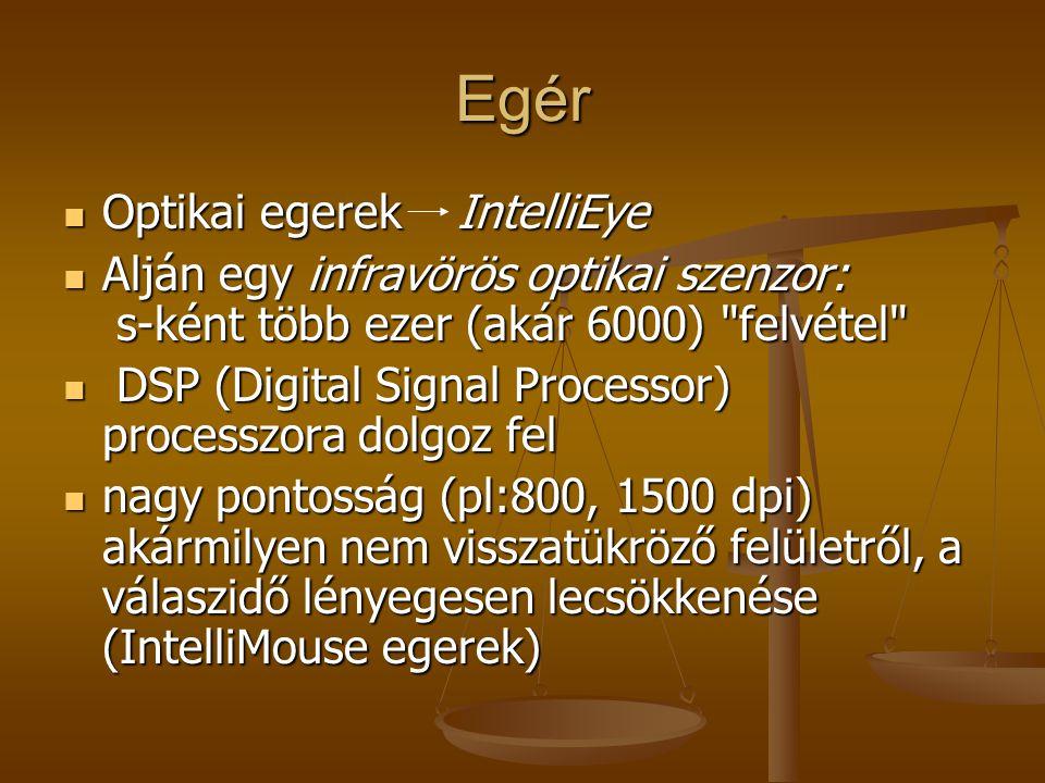 Egér Optikai egerek IntelliEye