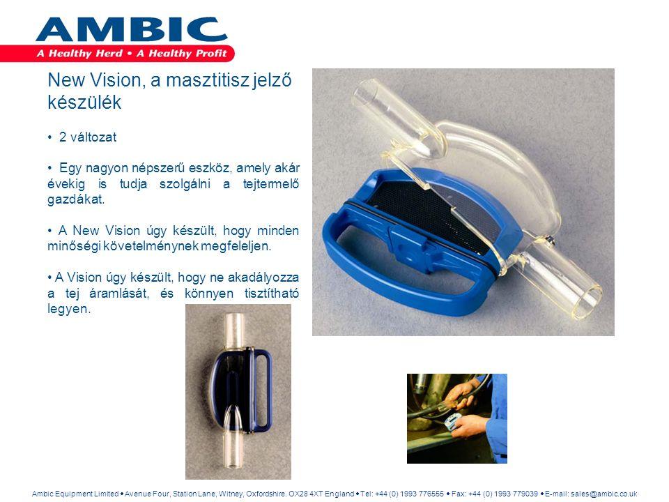 New Vision, a masztitisz jelző készülék