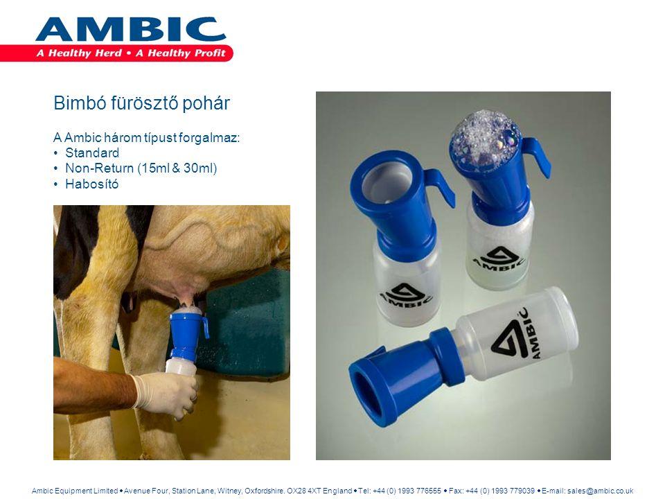 Bimbó fürösztő pohár A Ambic három típust forgalmaz: Standard