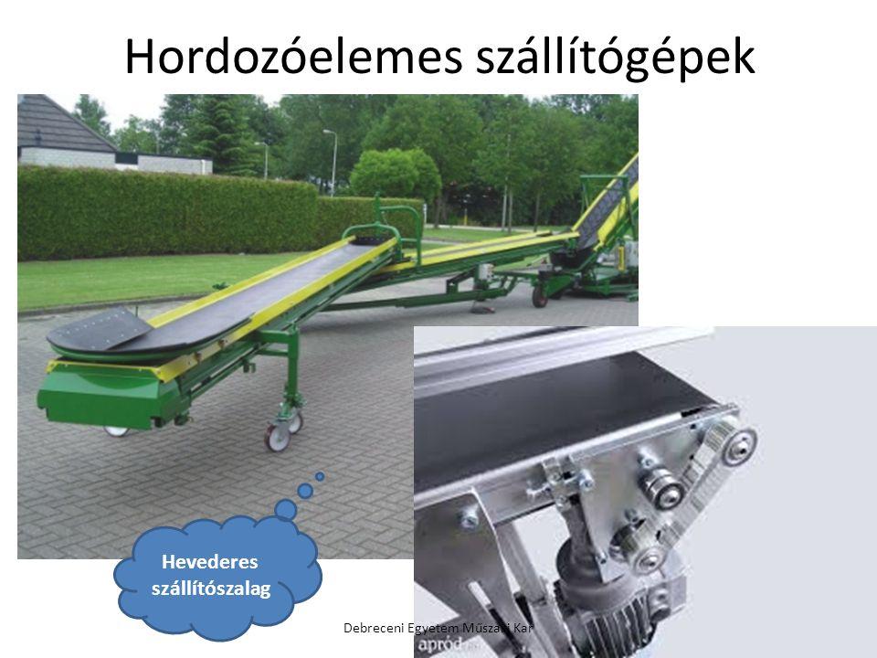 Hordozóelemes szállítógépek