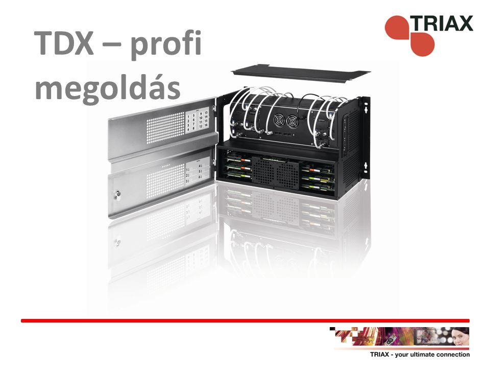TDX – profi megoldás