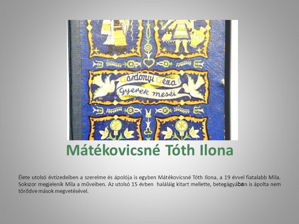 Mátékovicsné Tóth Ilona