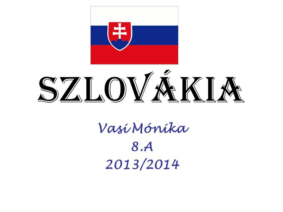 Szlovákia Vasi Mónika 8.A 2013/2014