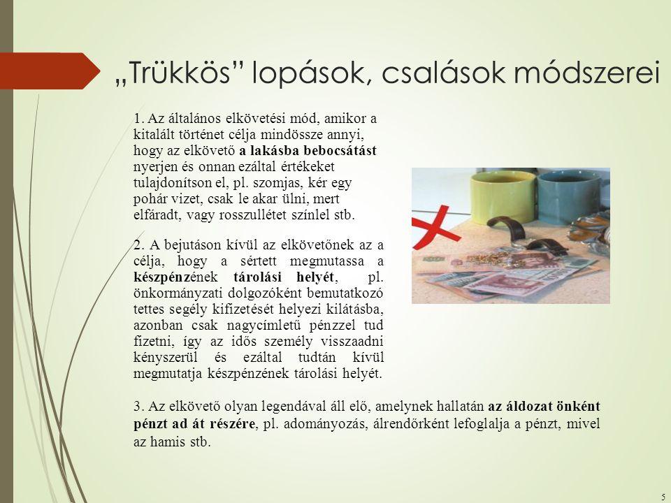 """""""Trükkös lopások, csalások módszerei"""