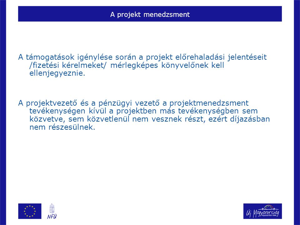 A projekt menedzsment