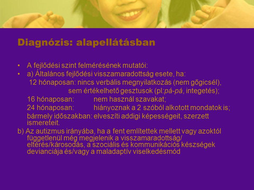 Diagnózis: alapellátásban