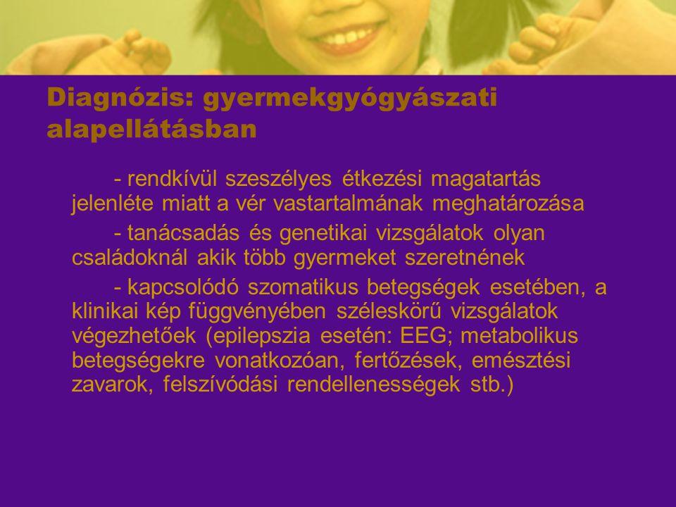 Diagnózis: gyermekgyógyászati alapellátásban