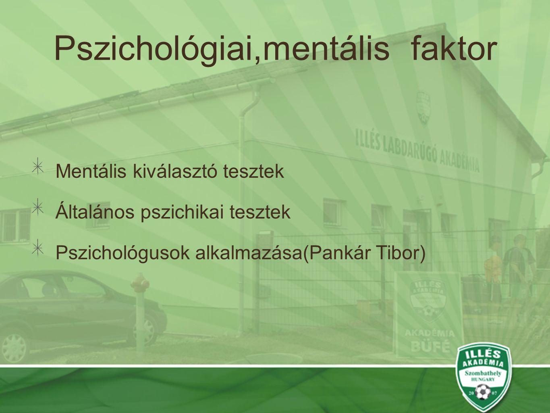 Pszichológiai,mentális faktor