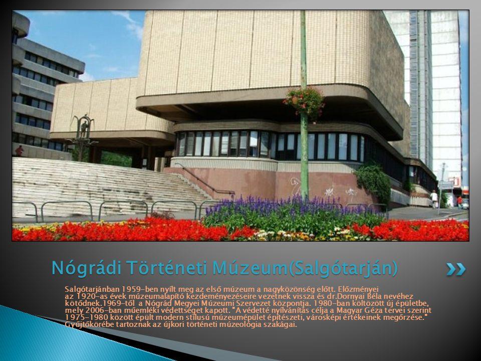 Nógrádi Történeti Múzeum(Salgótarján)