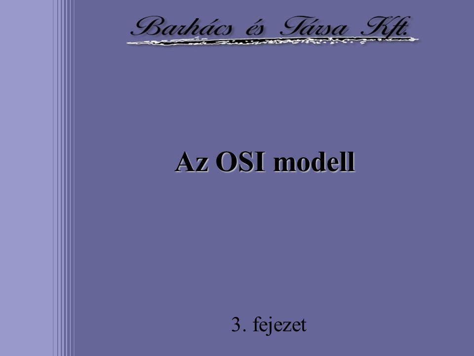 Az OSI modell 3. fejezet