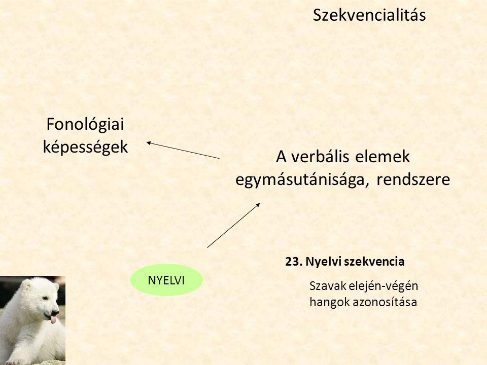 Fonológiai képességek