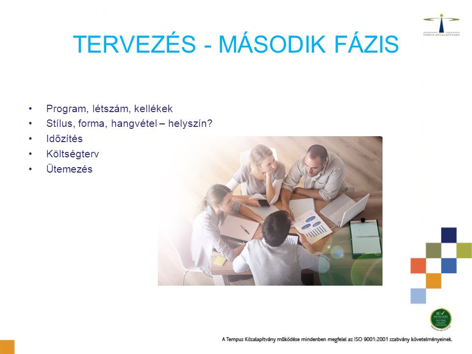 TERVEZÉS - MÁSODIK FÁZIS