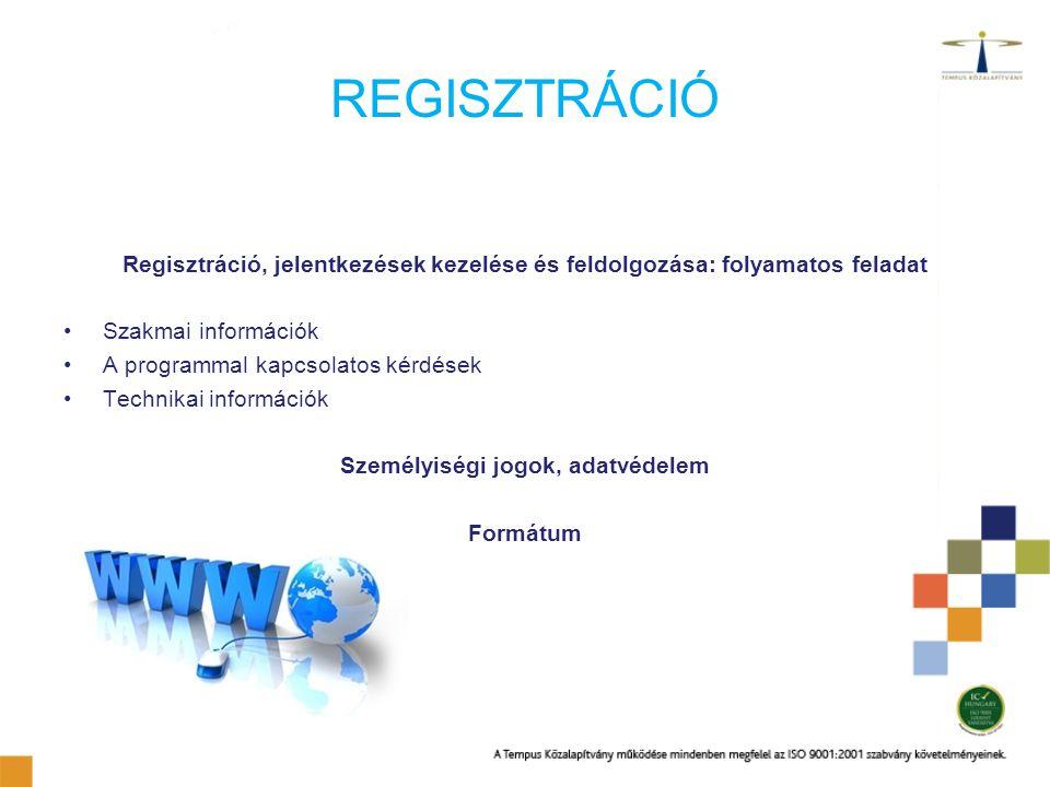 Személyiségi jogok, adatvédelem