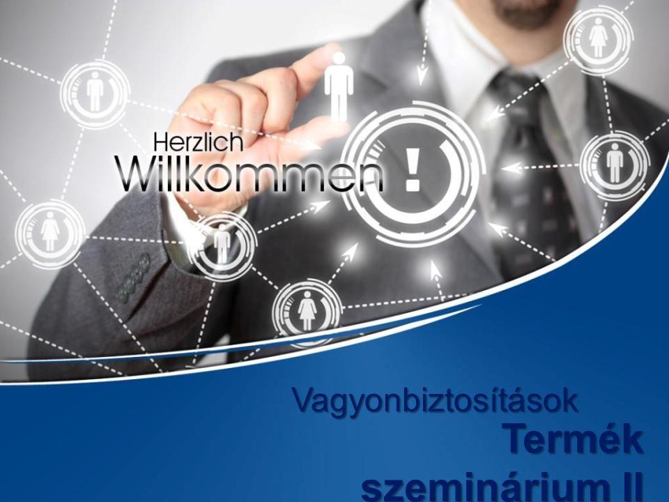 Vagyonbiztosítások Termék szeminárium II
