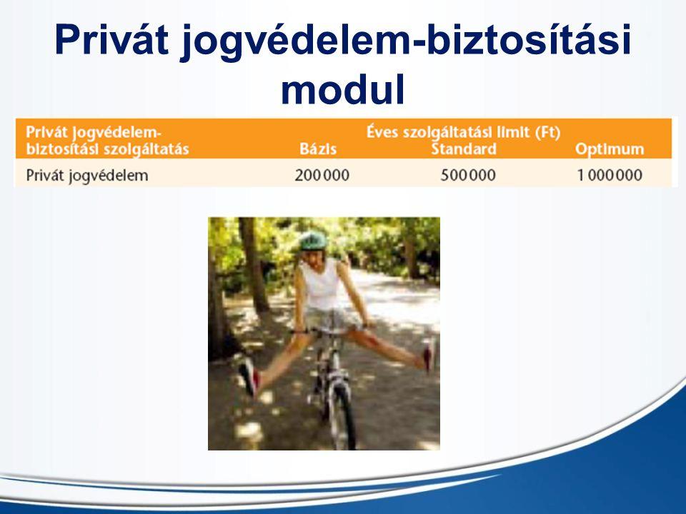 Privát jogvédelem-biztosítási modul