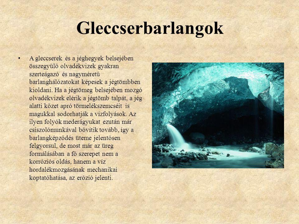 Gleccserbarlangok
