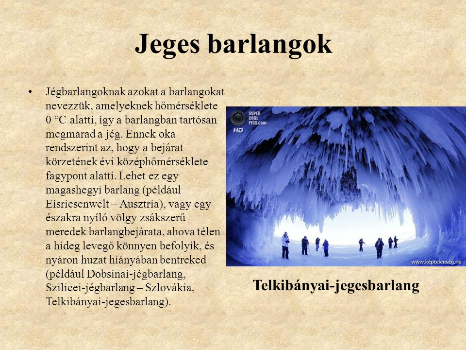 Jeges barlangok Telkibányai-jegesbarlang
