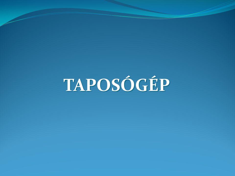 TAPOSÓGÉP